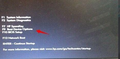 hp惠普笔记本bios怎么设置u盘启动