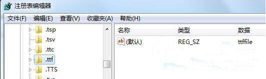 ttf文件打不开